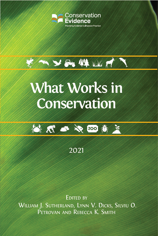1,000 pages of evidence for conservation actions