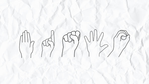 Tackling Simplified Sign System Handshapes: Five Basics to Get You Started